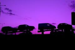 bilar Arkivfoton