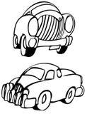 bilar stock illustrationer