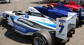 Bilar för grand prix A1 Arkivfoton