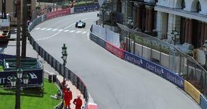 Bilar för grand prix F1 1961 - 1965 - Monaco historiska grand prix 2018 lager videofilmer