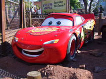 Bilar i Disneyland Paris Arkivfoton