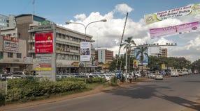 Bilar i Nairobi Royaltyfri Foto