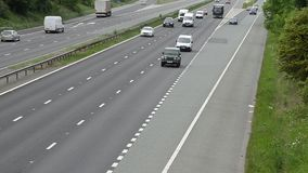 Bilar på motorwayen