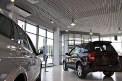 bilar shoppar Fotografering för Bildbyråer