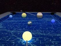 bilardowa planeta Zdjęcie Royalty Free