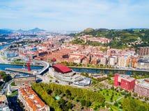 Free Bilbao Aerial Panoramic View, Spain Stock Image - 114073071