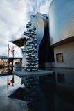 Bilbao art museum. Museum of Contemporary Art in Bilbao, Spain Royalty Free Stock Photo