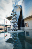 Bilbao art museum. Museum of Contemporary Art in Bilbao, Spain Stock Photography