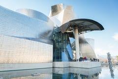 Bilbao art museum. Museum of Contemporary Art in Bilbao, Spain Royalty Free Stock Photos
