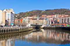 Bilbao, Basque Country, Spain cityscape Stock Image