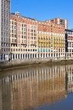 Bilbao, Basque Country, Spain cityscape Royalty Free Stock Photo