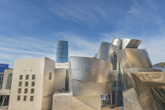 Bilbao, Basque country, Spain,  october 30: Guggenheim museum. Stock Images