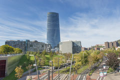 Bilbao, Basque country, Spain,  october 30: Iberdrola tower. Stock Images