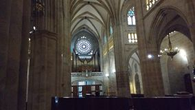 Bilbao Cathedral Sandiago de Compostela Apostol stock images