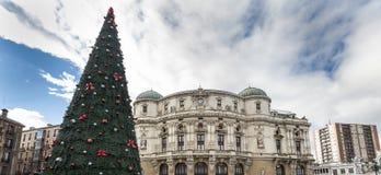 Bilbao Chrismast Fotografia Royalty Free