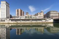 Bilbao city, Bizkaia, Basque country, Spain. Stock Photos