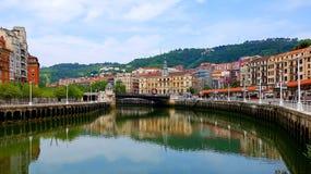 Bilbao cityscape stock photography