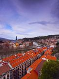 Bilbao Cityscape Royalty Free Stock Photo