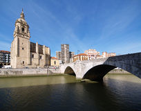 Bilbao cityscapes Royalty Free Stock Photo