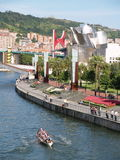 Bilbao, España - Augoust 17 Semana grande 2008 Imagen de archivo