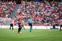 BILBAO, ESPAÑA - 18 DE SEPTIEMBRE: Aritz Aduriz, jugador atlético de Bilbao del club, en el partido entre el Athletic de Bilbao y Fotos de archivo