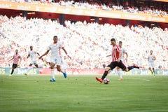 BILBAO, ESPAÑA - 18 DE SEPTIEMBRE: Aritz Aduriz, jugador atlético de Bilbao del club, en el partido entre el Athletic de Bilbao y Imagen de archivo libre de regalías