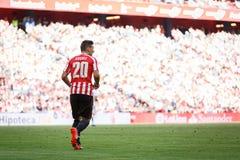 BILBAO, ESPAÑA - 18 DE SEPTIEMBRE: Aritz Aduriz, jugador atlético de Bilbao del club, en el partido entre el Athletic de Bilbao y Imagen de archivo