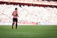 BILBAO, ESPAÑA - 18 DE SEPTIEMBRE: Aritz Aduriz, jugador atlético de Bilbao del club, en el partido entre el Athletic de Bilbao y Fotos de archivo libres de regalías