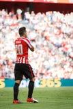 BILBAO, ESPAÑA - 18 DE SEPTIEMBRE: Aritz Aduriz, jugador atlético de Bilbao del club, en el partido entre el Athletic de Bilbao y Imagenes de archivo