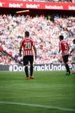 BILBAO, ESPAÑA - 18 DE SEPTIEMBRE: Aritz Aduriz, jugador del Athletic de Bilbao, en el partido entre el Athletic de Bilbao y el V Fotos de archivo