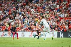 BILBAO, ESPAGNE - 28 AOÛT : Gorka Iraizoz, gardien de but sportif de Bilbao de club, dans la correspondance entre l'Athletic Bilb Image libre de droits