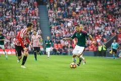 BILBAO, ESPAGNE - 30 OCTOBRE : Sergio Leon, joueur d'Osasuna, dans l'action pendant un match de ligue espagnol entre l'Athletic B Images stock