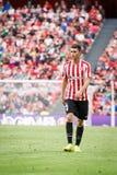 BILBAO, ESPAGNE - 18 SEPTEMBRE : Aymeric Laporte, joueur sportif de Bilbao de club, dans la correspondance entre l'Athletic Bilba Images stock