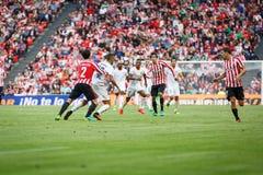 BILBAO, ESPAGNE - 18 SEPTEMBRE : Eneko Boveda, joueur de Bilbao, dans l'action pendant un match de ligue espagnol entre l'Athleti Images stock