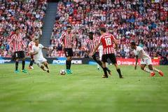 BILBAO, ESPAGNE - 18 SEPTEMBRE : Inaki Williams, joueur de Bilbao, dans l'action pendant un match de ligue espagnol entre l'Athle Photos stock