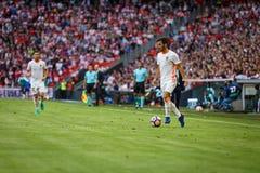 BILBAO, ESPAGNE - 18 SEPTEMBRE : Jose Luis Gaya, joueur de Valencia CF, pendant un match de ligue espagnol entre l'Athletic Bilba Images stock