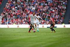 BILBAO, ESPAGNE - 18 SEPTEMBRE : Mario Suarez, joueur de Valencia CF, dans l'action pendant un match de ligue espagnol entre l'At Photo libre de droits