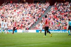 BILBAO, ESPAGNE - 18 SEPTEMBRE : Raul Garcia, joueur d'Athletic Bilbao, dans le match de ligue espagnol entre l'Athletic Bilbao e Images libres de droits