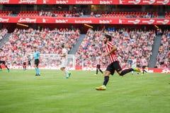 BILBAO, ESPAGNE - 18 SEPTEMBRE : Raul Garcia, joueur d'Athletic Bilbao, dans le match de ligue espagnol entre l'Athletic Bilbao e Photographie stock libre de droits