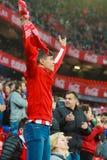 BILBAO, ESPANHA - ARPIL 10: Ze Castro na harmonia entre Athletic Bilbao e o Rayo Vallecano, comemorados o 10 de abril de 2016 em  Imagem de Stock Royalty Free