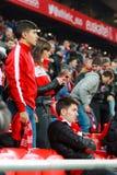 BILBAO, ESPANHA - ARPIL 10: Ze Castro na harmonia entre Athletic Bilbao e o Rayo Vallecano, comemorados o 10 de abril de 2016 em  Imagem de Stock