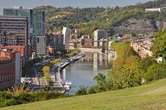 Bilbao from Etxebarria park Royalty Free Stock Image
