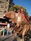 Bilbao - grande parata 2008 della balena del 17 agosto Semana Fotografie Stock