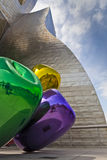 Bilbao Guggenheim museum Royalty Free Stock Images