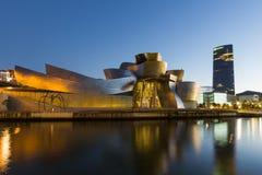 Bilbao - Guggenheim Museum Stock Image