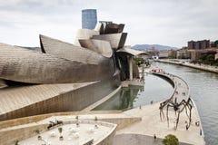 Bilbao Guggenheim muzeum Fotografia Royalty Free