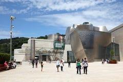 bilbao guggenheim muzeum Spain Fotografia Royalty Free