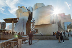 Bilbao-Kunstmuseum Lizenzfreies Stockfoto