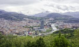Bilbao landscape Royalty Free Stock Photos