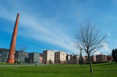 Bilbao landskap av Biscay, baskiskt land, Spanien, Iberiska halvön, Europa Arkivbilder